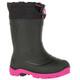 Kamik Snobuster1 Rubber Boots Children black/magenta